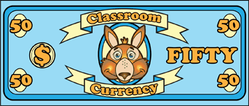 Classroom Currency $50