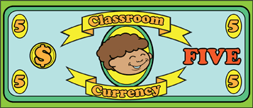 Classroom Currency $5