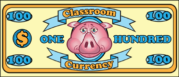 Classroom Currency $100