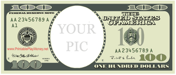 Your Pic One Hundred Dollars