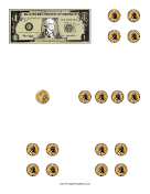 Counting Dollars Worksheet