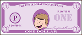 Mini-Play Money Purple